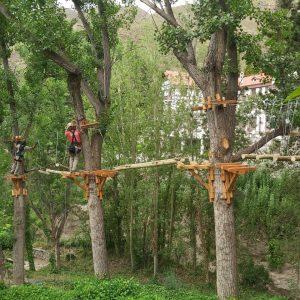 Villavicencio Park Arborismo